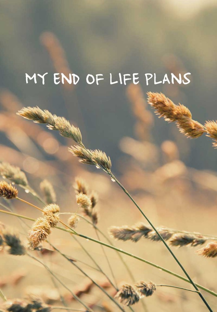 cover of My End of Life Plans workbook